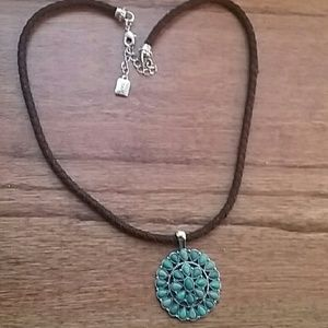 Chaps Turquoise Necklace
